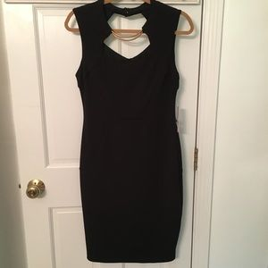 9/16 NWT BISOU BISOU BLACK DRESS Orig $72